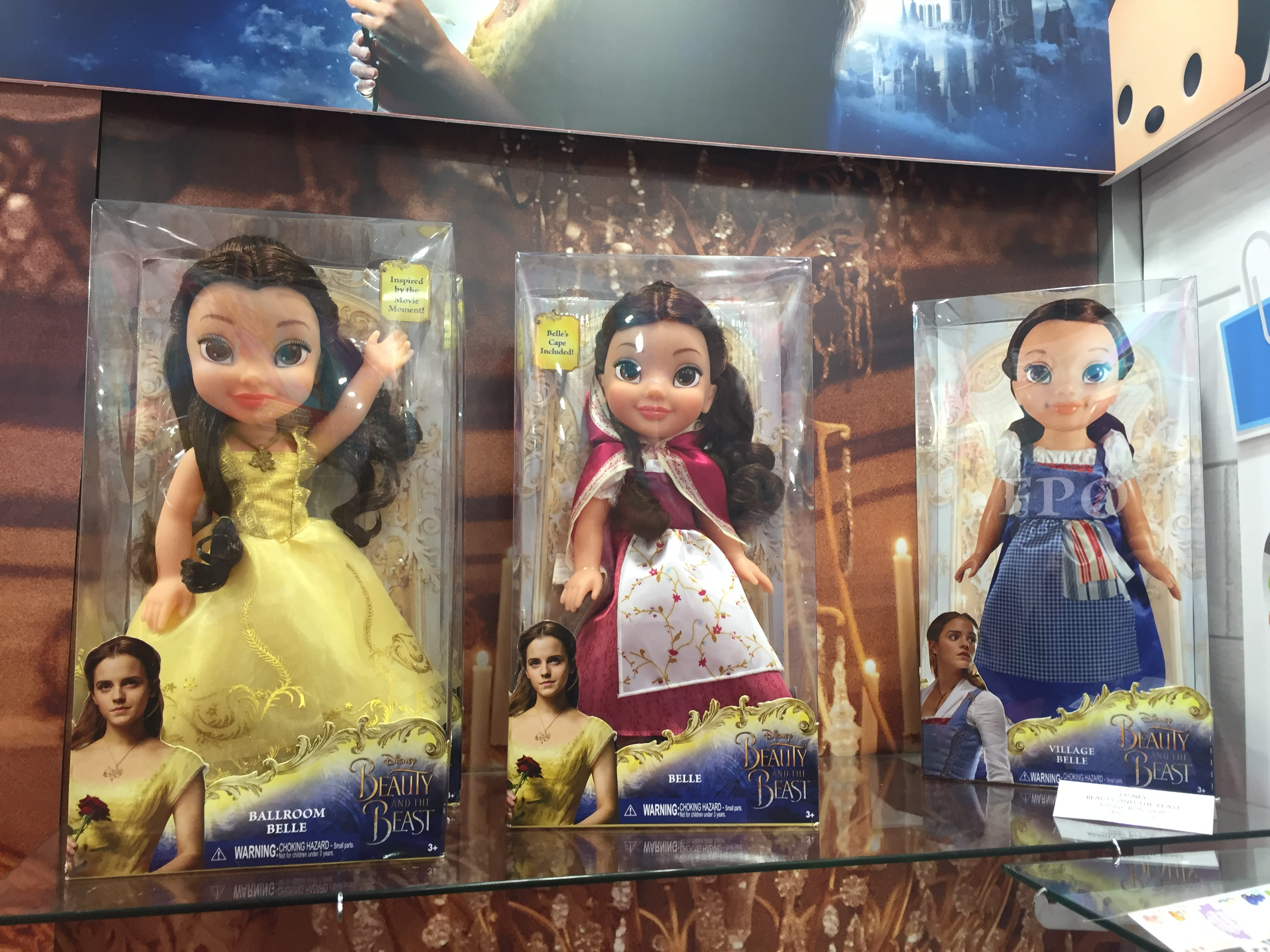 While Hasbro Has The License For Beauty And Beast 12 Inch Dolls Jakks Pacific Freedom To Make Larger Scale
