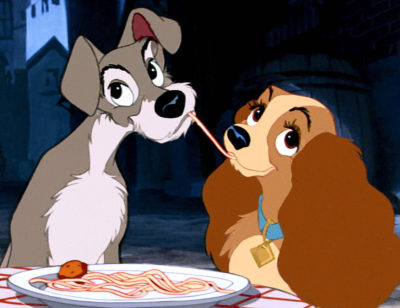 Romantic Disney film — Lady and the Tramp