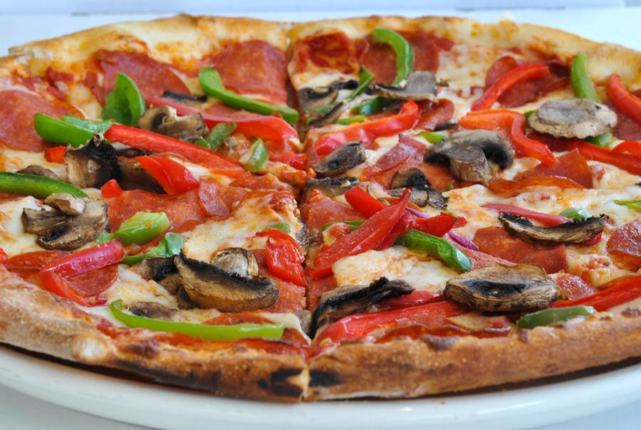 Veggie Pizza at Disney World