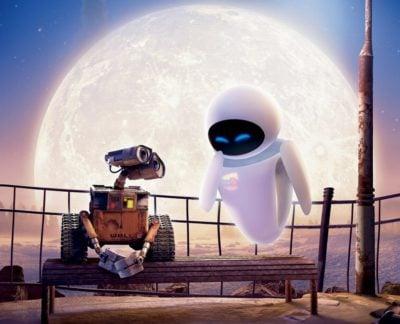 Romantic Disney film — Wall E