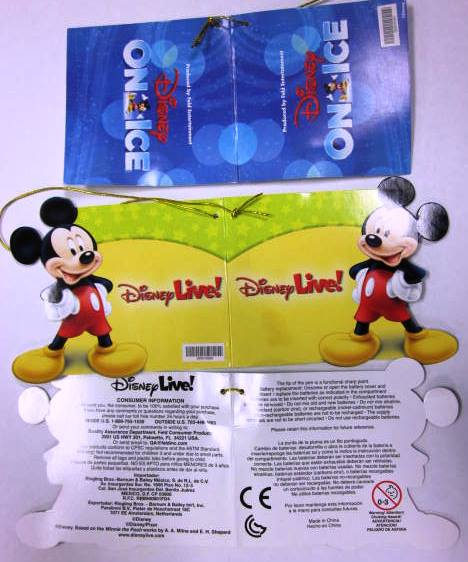 Feld Entertainment Recalling Disney on Ice/Disney Live Toy Wands Due to Injury Hazard