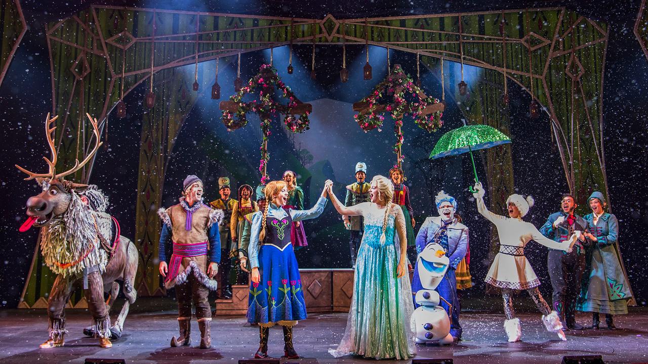 "Disney Parks Blog to Stream ""Frozen, A Musical Spectacular"" Sneak Peek Tomorrow"