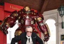 Stan Lee and the Hulkbuster