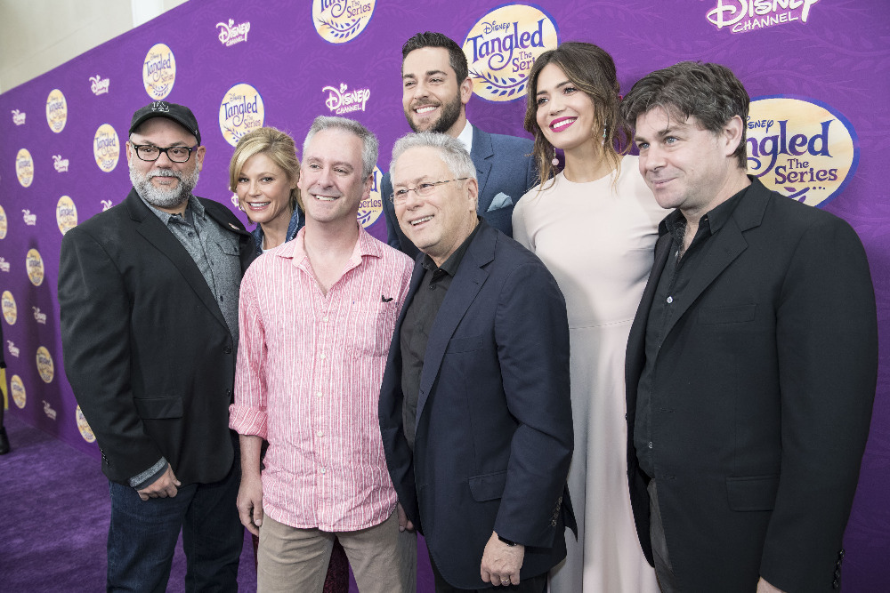 CHRIS SONNENBURG (EXECUTIVE PRODUCER), JULIE BOWEN, KEVIN KLIESCH (SCORE COMPOSER), ZACHARY LEVI, ALAN MENKEN (SONG COMPOSER), MANDY MOORE, GLENN SLATER (SONG LYRICIST)