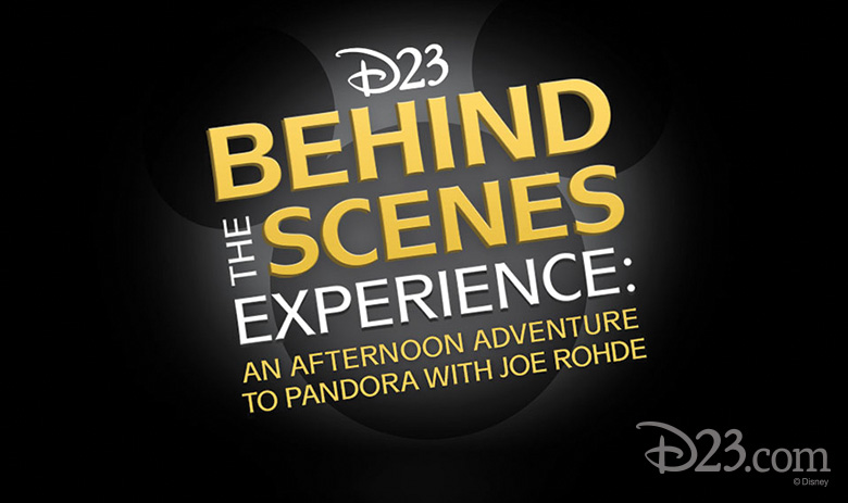 D23 to Offer Pandora - The World of Avatar Behind the Scenes Experience with Joe Rohde