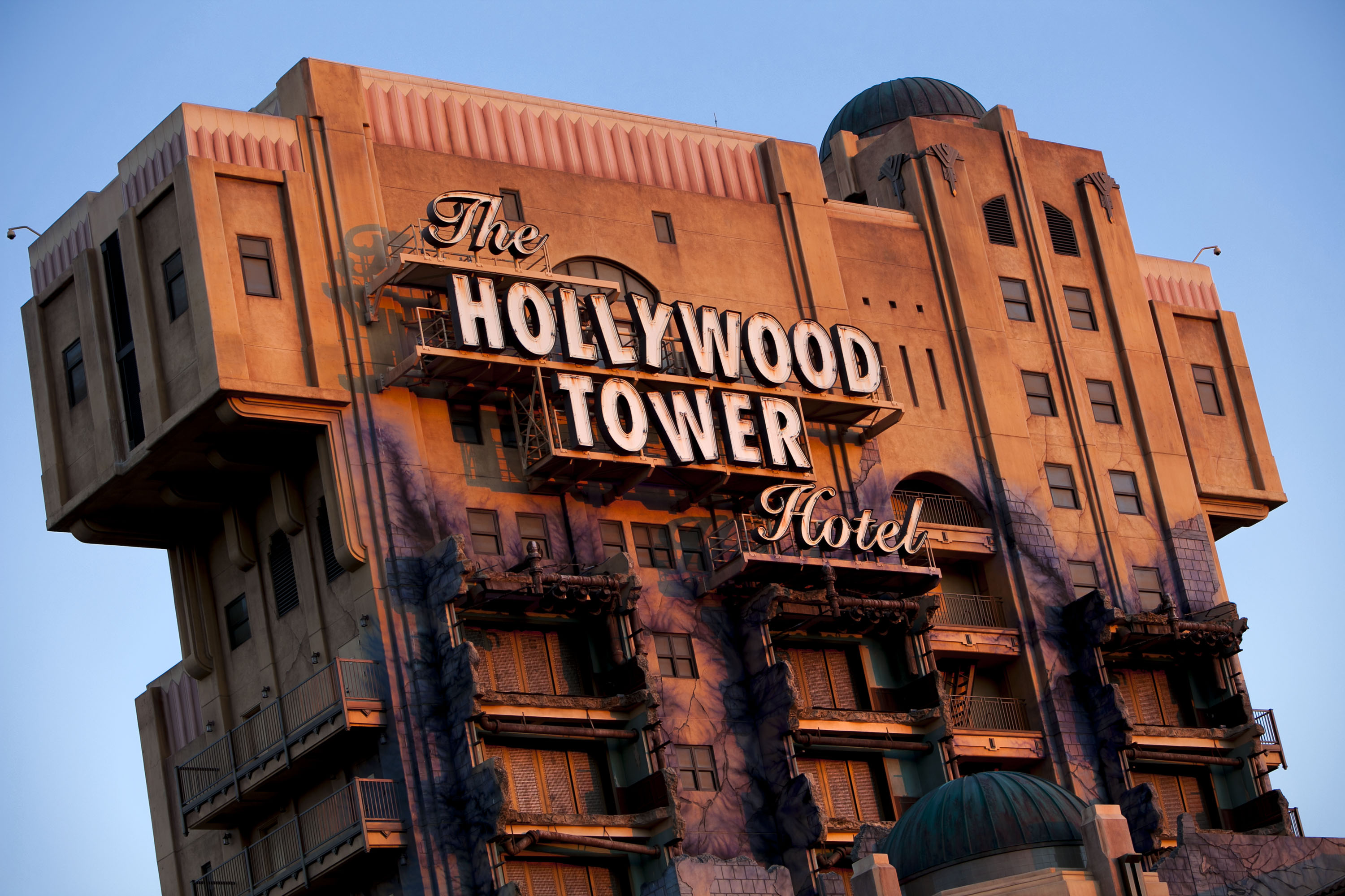 The Twilight Zone Tower of Terror at Disney California Adventure