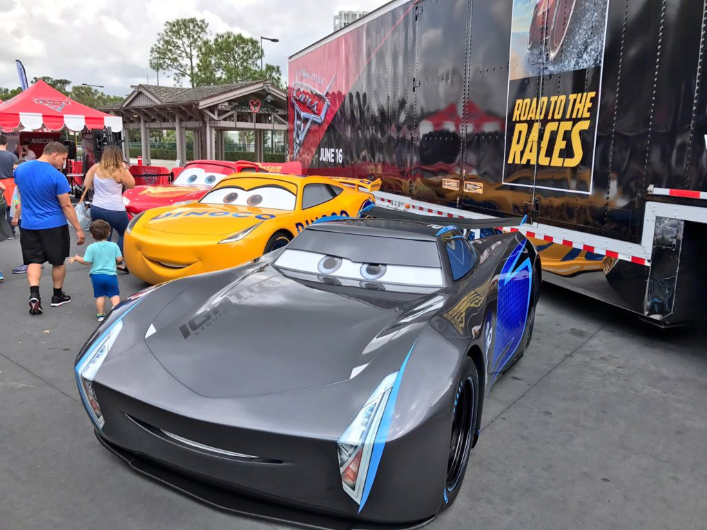 Cars 3 Quot Road To The Races Quot First Stop At Disney Springs