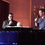 "Watch Josh Gad and Luke Evans Perform ""Beauty and the Beast"" Songs with Alan Menken"
