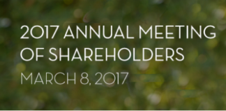 Disney Annual Meeting of Shareholders