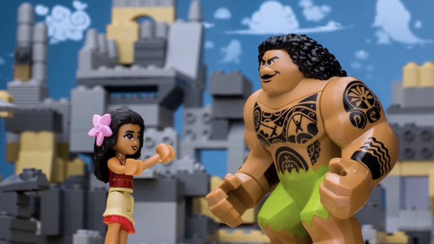 """Disney Launches """"As Told by LEGO"""" Series With """"Moana"""""""