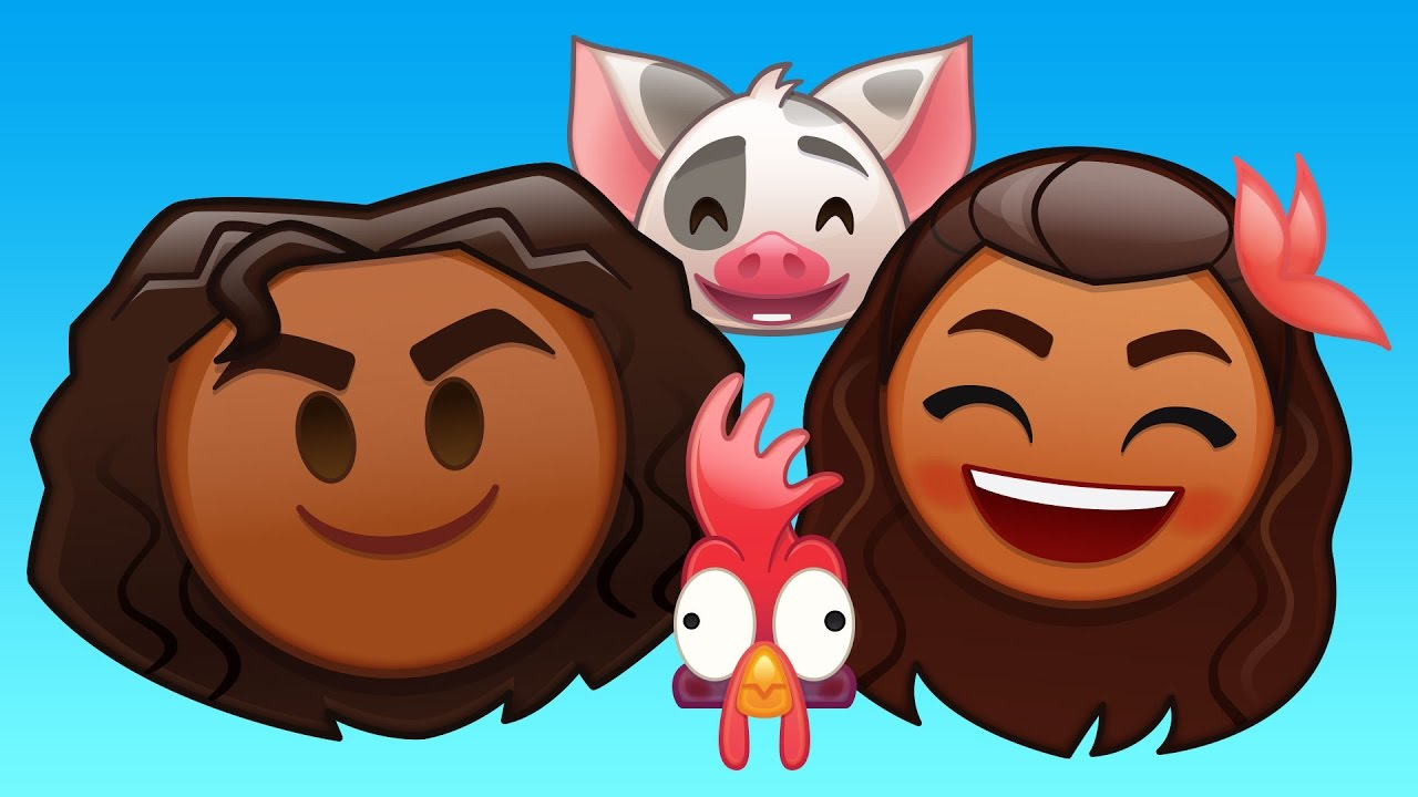 """""""Moana"""" is the Latest Disney """"As Told By Emoji"""""""