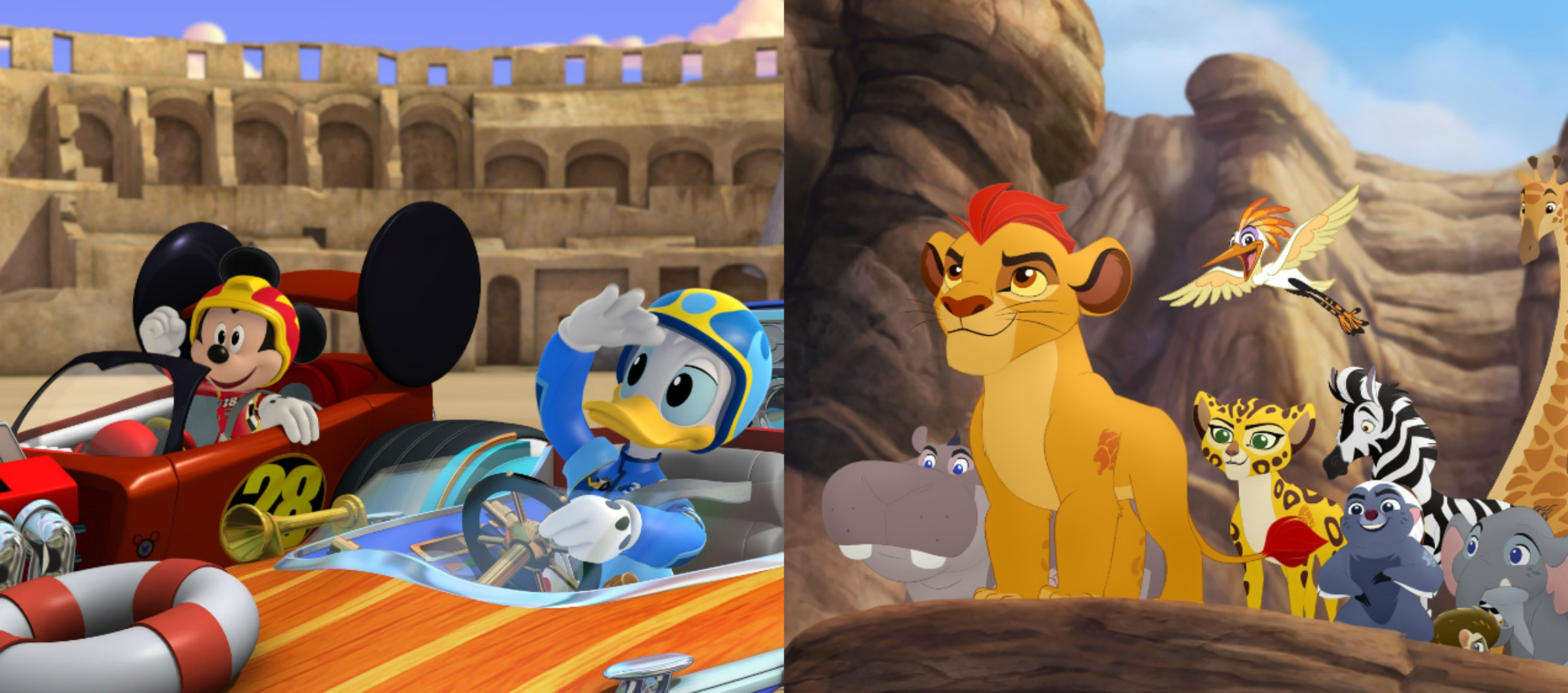 Mickey and the Roadster Racers  The Lion Guard