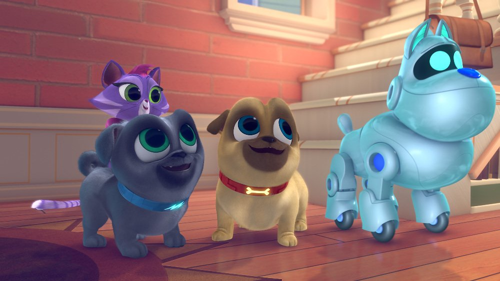 Tv Review Disney Junior S Puppy Dog Pals Laughingplace Com