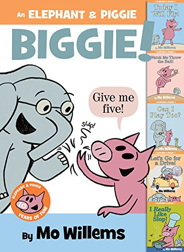 Children's Book Review: An Elephant & Piggie Biggie! by Mo Willems