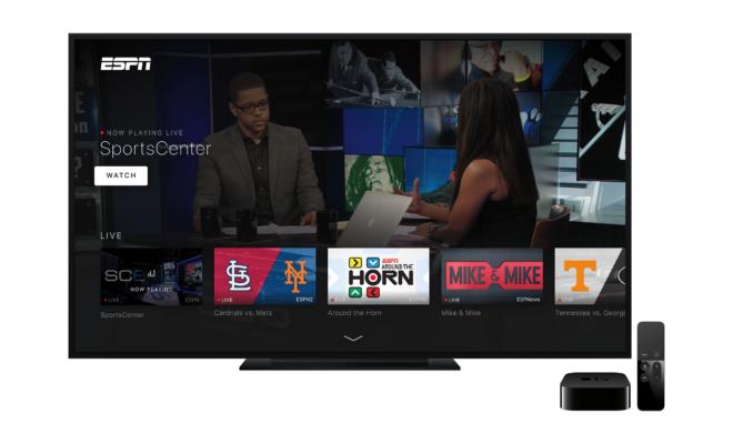 ESPN tvOS App