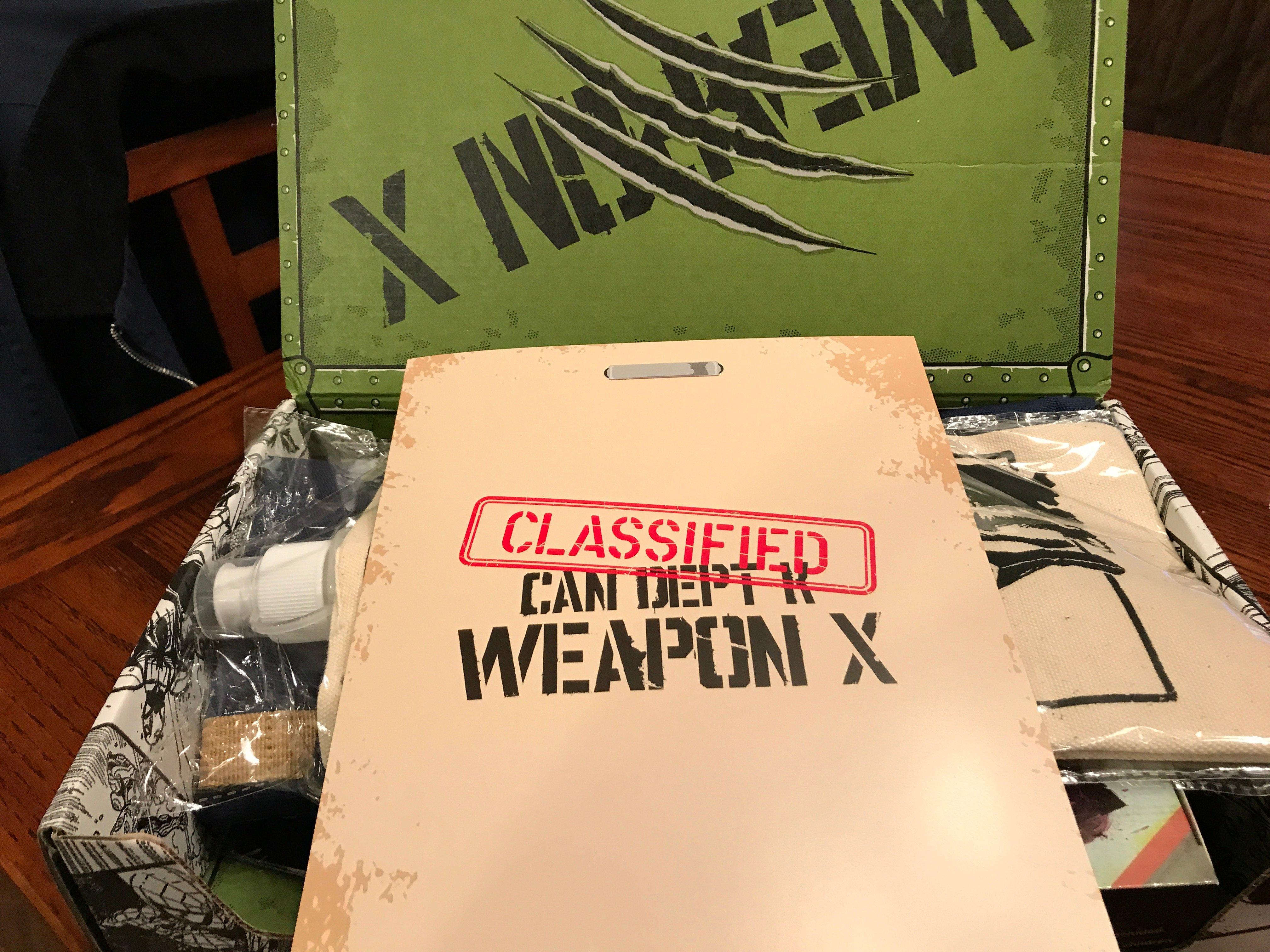 Marvel Gear + Goods Weapon X
