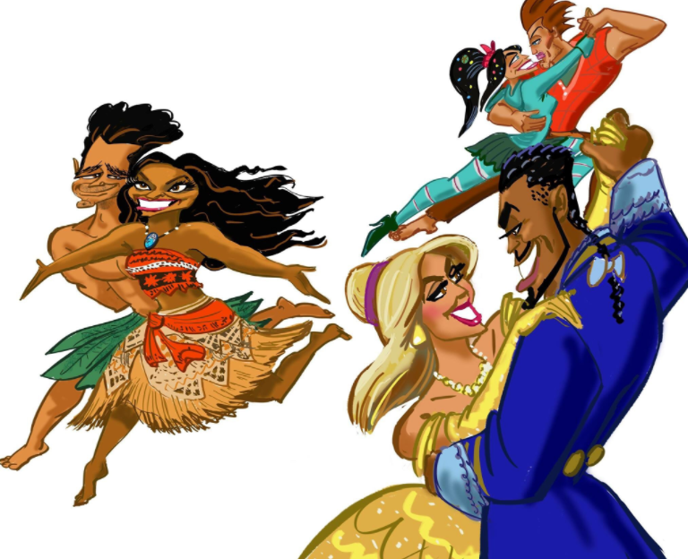 """John Musker Turns """"Dancing with the Stars"""" Couples into Cartoons Ahead of Disney Night Program"""