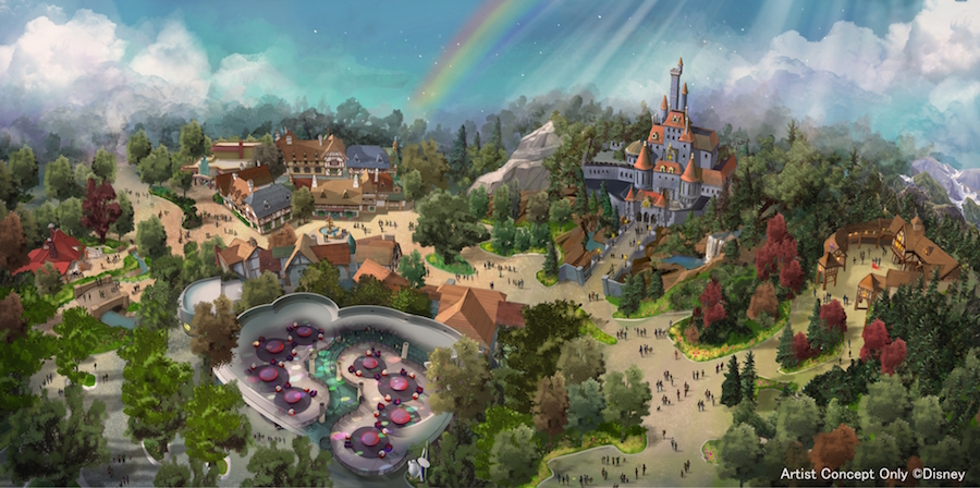 Tokyo Disneyland Expansion Breaks Ground