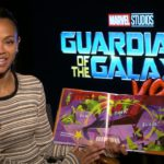 Zoe Saldana Reads Night Night, Groot