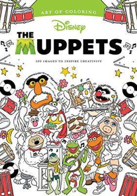 Its Time To Grab Your Crayons Take A Look Meet The Muppets In Coloring Book Thats Right Grown Ups