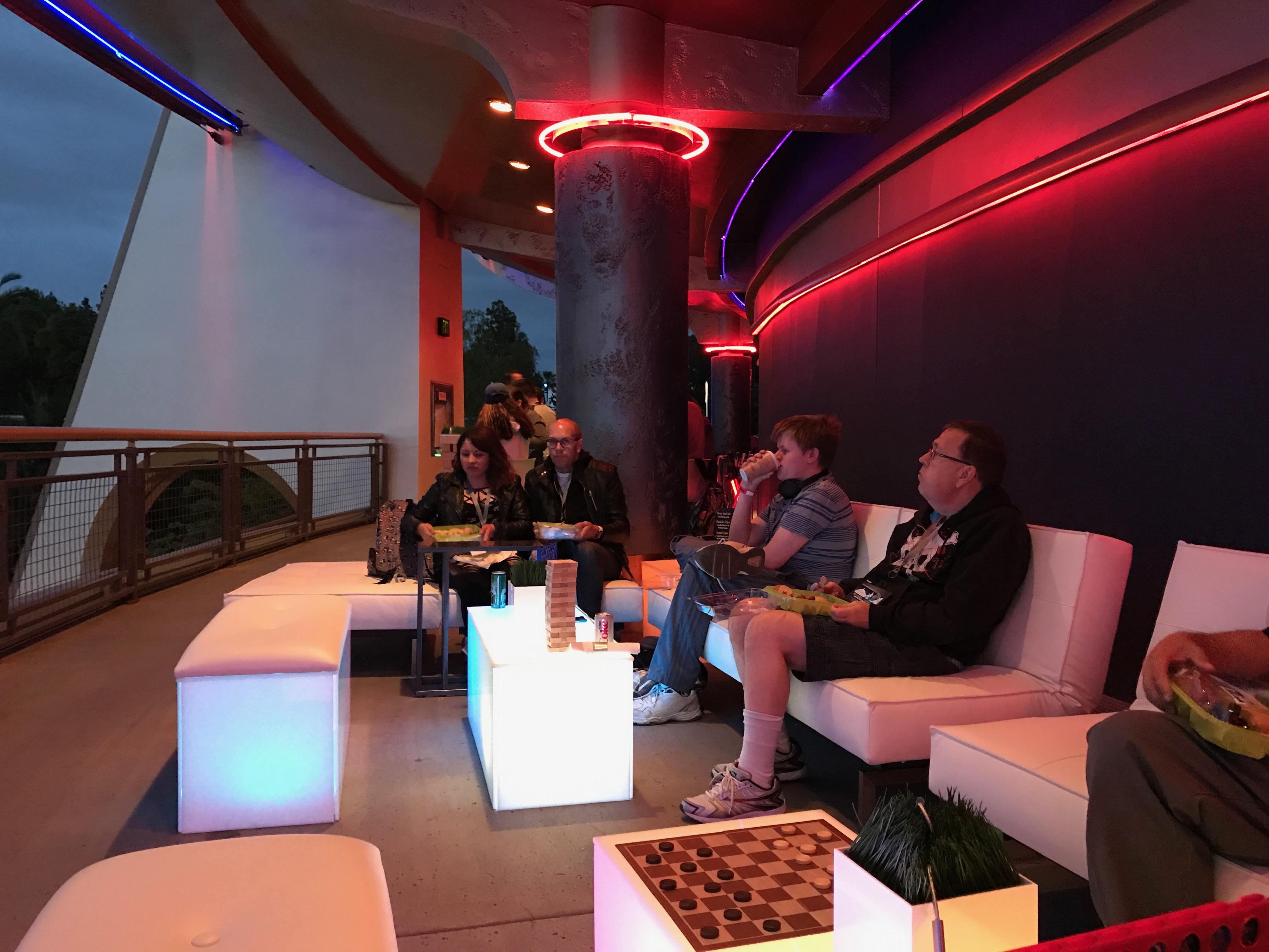 Skyline Lounge Experience Debuts In Disneyland S