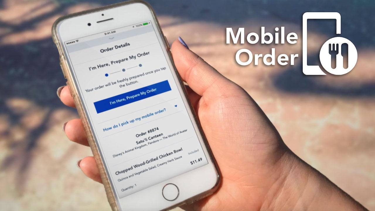 Walt Disney World's Mobile Ordering Adds Support for Disney Dining Plan