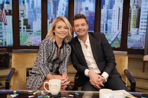 "Ryan Seacrest to Join Kelly Ripa on ABC's ""Live"" as Permanent Co-Host"