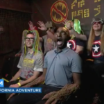 The Best Part of the New Guardians of the Galaxy Attraction? Watching Local News Hosts Ride It