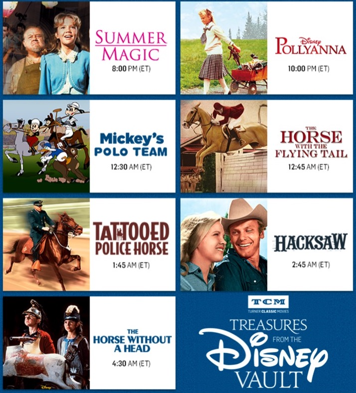 TCM's Treasures from the Disney Vault: June 2017