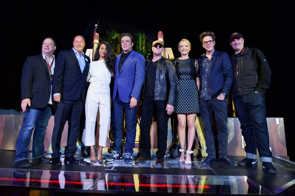 Cast and Crew of Guardians of the Galaxy