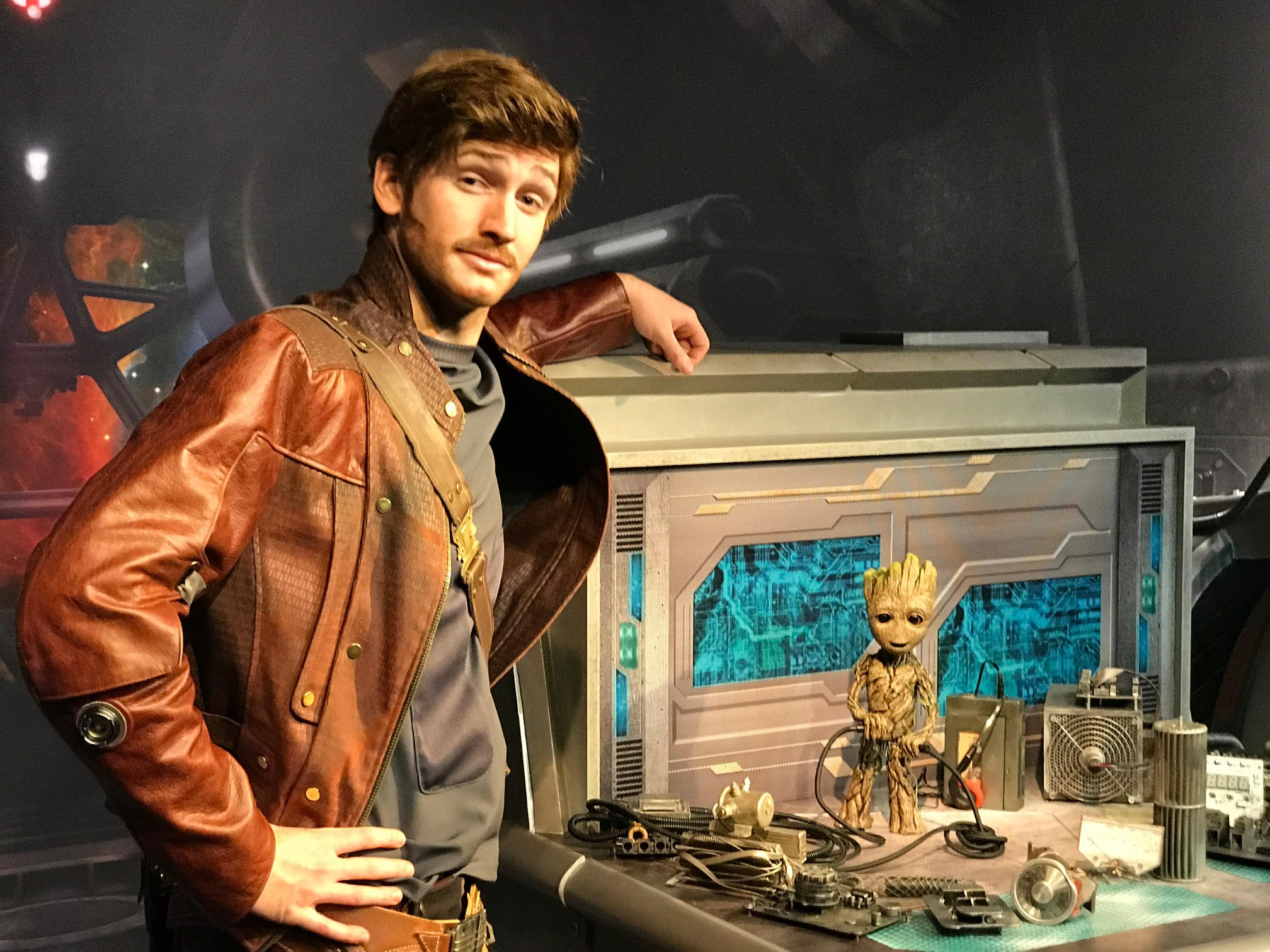Star-Lord and Baby Groot Start Greeting Guests at Disney's Hollywood Studios