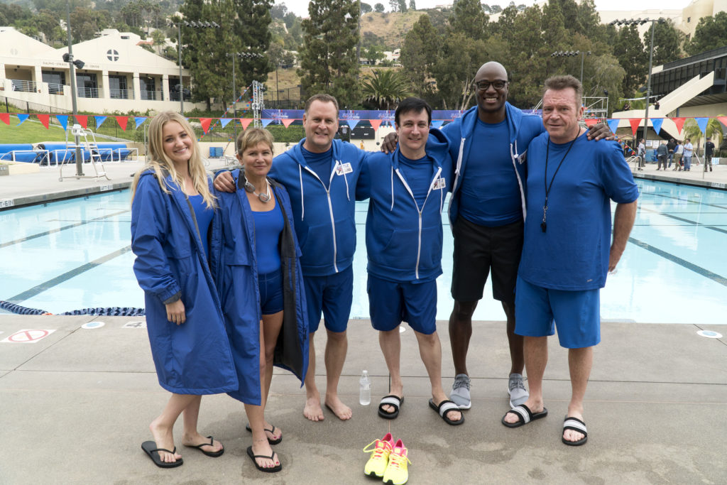AJ MICHALKA, TRACEY GOLD, DAVE COULIER, BRONSON PINCHOT, DEMARCUS WARE, TOM ARNOLD
