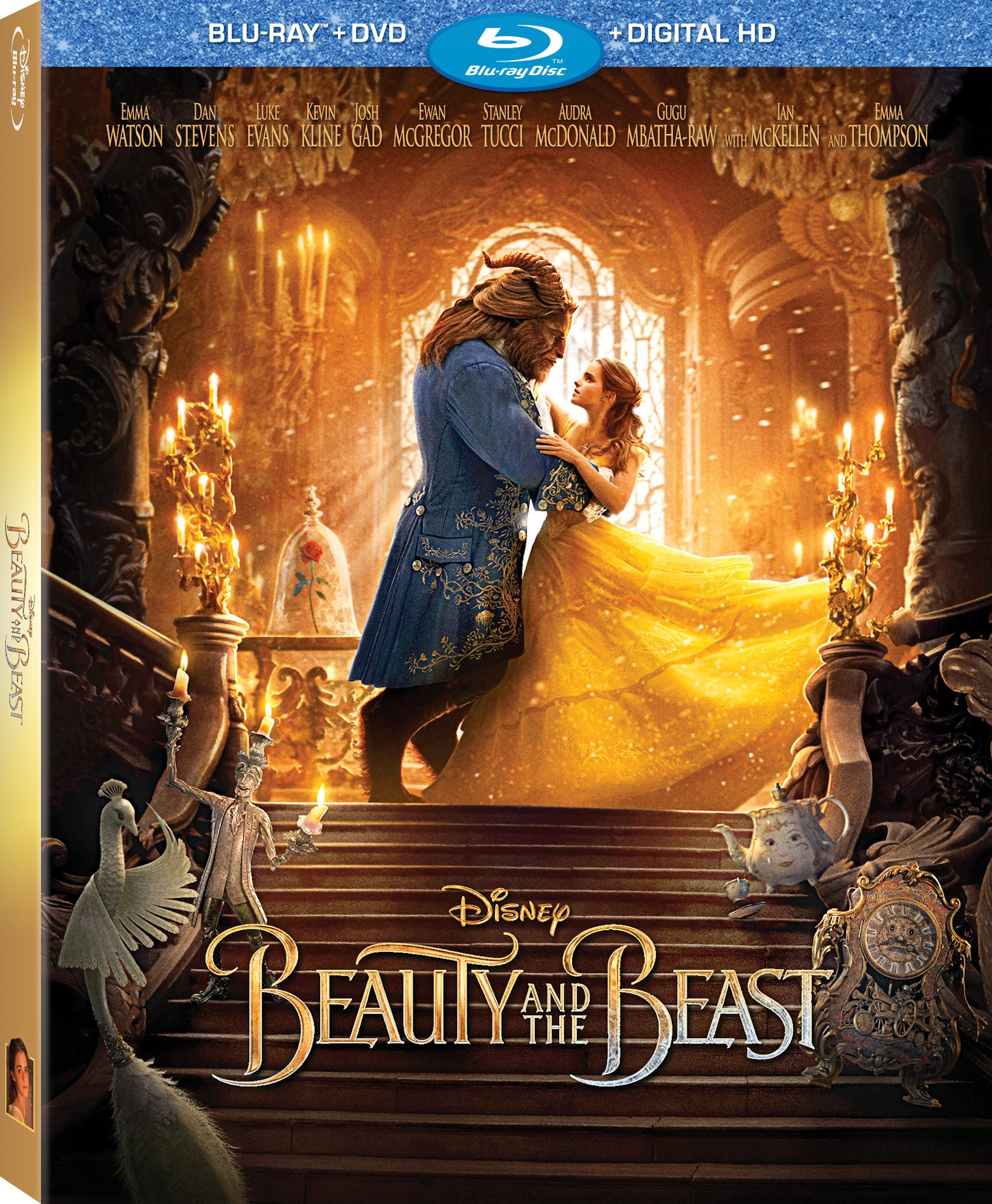 Blu Ray Review Beauty And The Beast Live Action Laughingplace Com