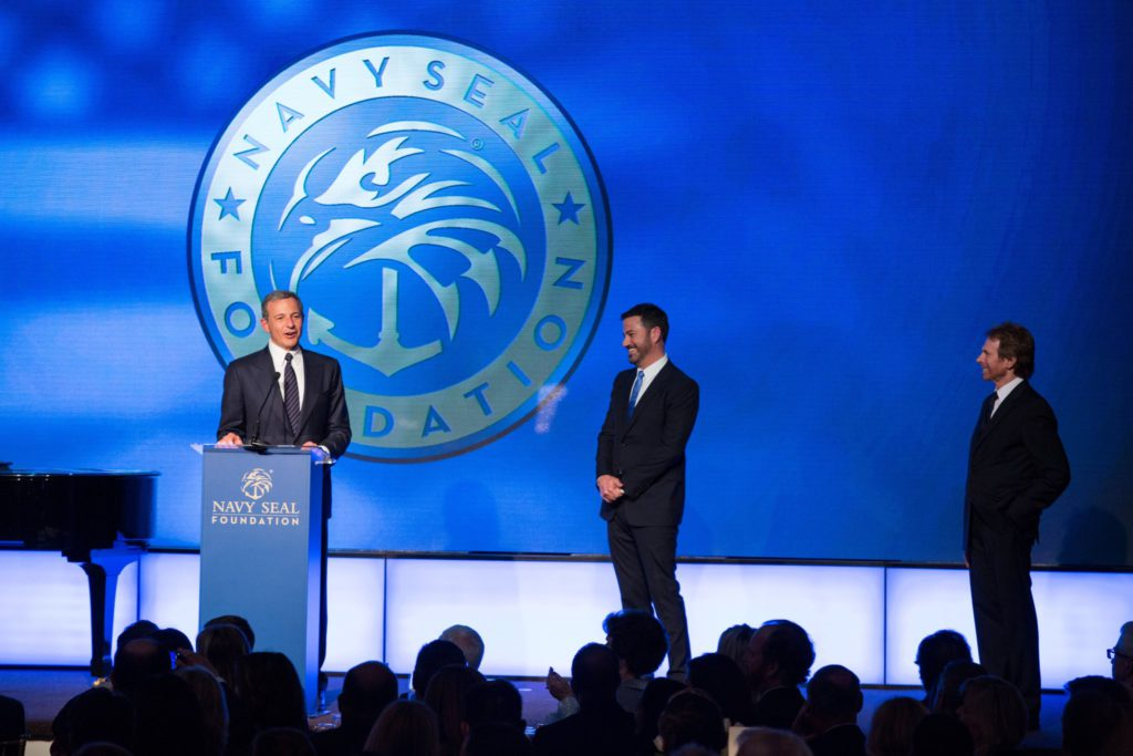 Bob Iger, Jimmy Kimmel & Jerry Bruckheimer