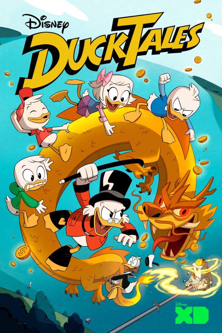 W Ducktales Disney XD's...