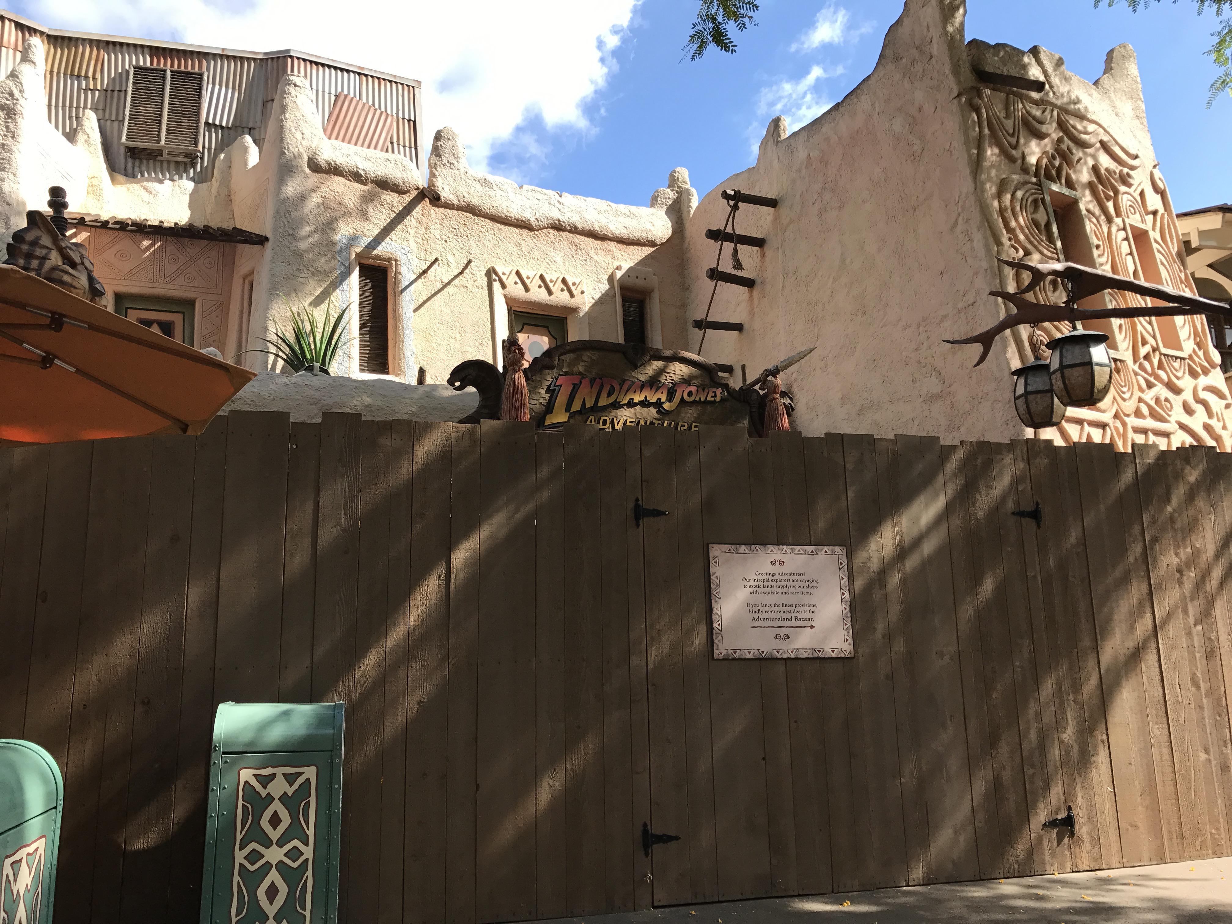 Work Begins on Disneyland Project to Improve Adventureland Crowd Flow