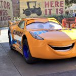 "Cruz Ramirez from ""Cars 3"" Makes Her Disney Parks Debut"