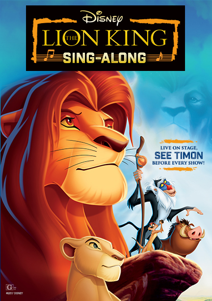 The Lion King Sing-Along