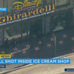 Off-Duty Officers Shoot Dog Inside Hollywood Ghirardelli Soda Fountain and Disney Studio Store
