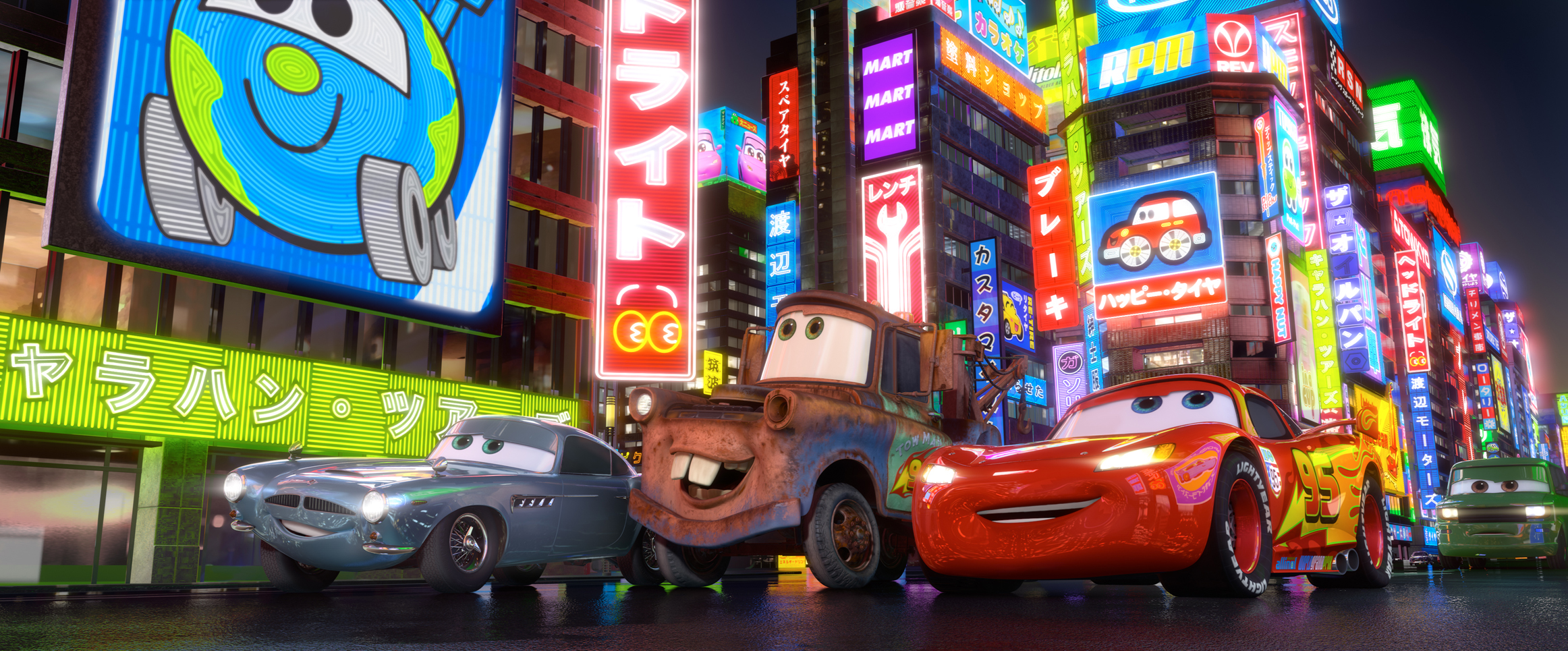 """""""Cars 2"""" is a Beautiful Movie, Just Not a Good One"""
