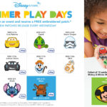 Summer Play Days Returning to Disney Store with Emoji Patches