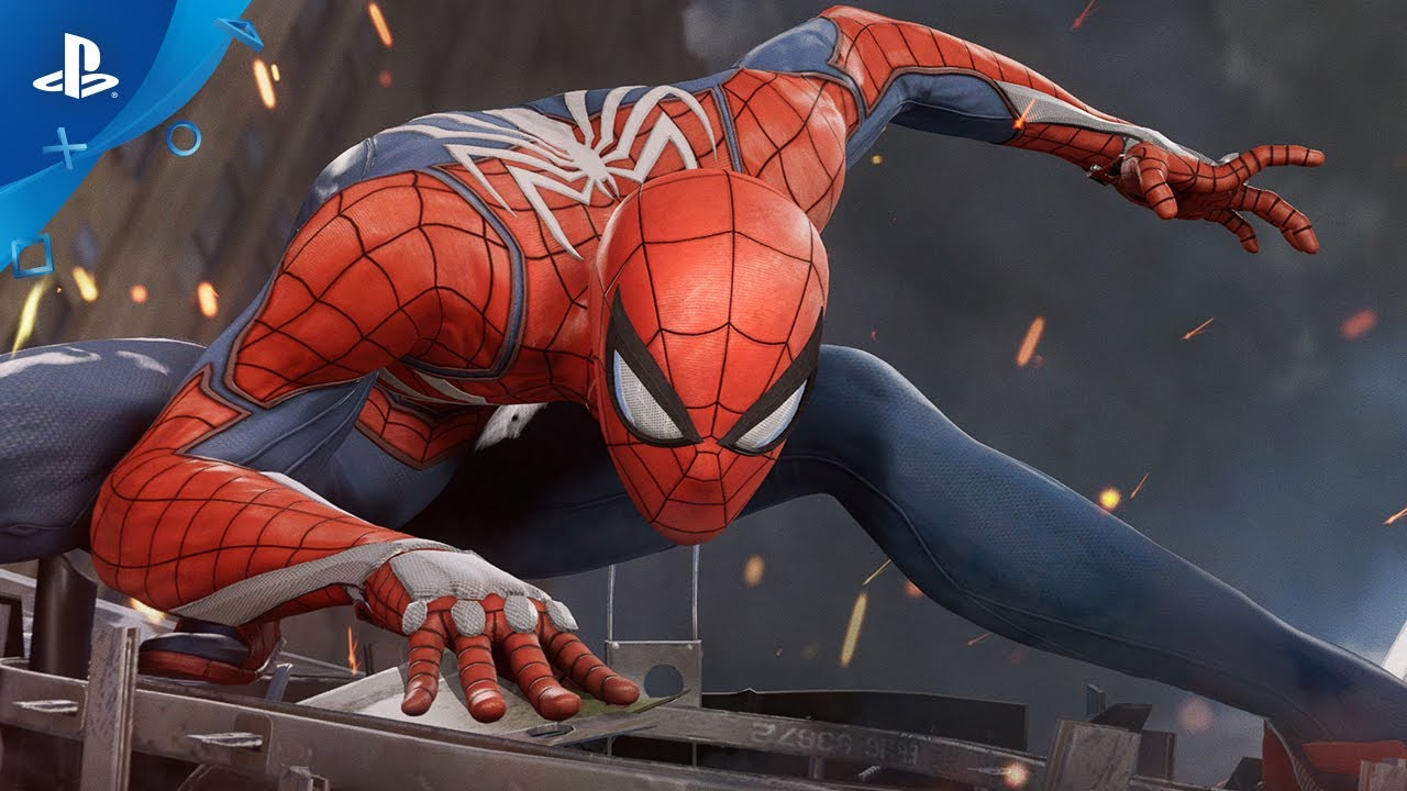 Gameplay Trailer for Spider-Man PS4 Game Released