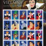 Disney Villains Stamps to Debut at D23 Expo