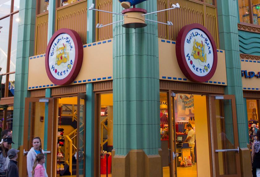 Build-a-Bear, Ridemakerz, and Chapel Hats Closing at Downtown Disney