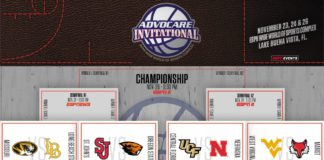 Advocare Invitational at Disney Announces 2017 Bracket