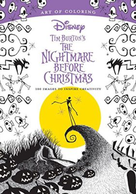 the new art of coloring the nightmare before christmas was releasedon july 18th boasting 100 images to inspire creativity it mirrors the style of the