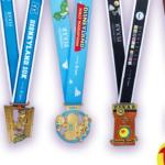 runDisney Unveils Pixar-Themed Medals for Disneyland Half Marathon Weekend