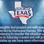 ESPN Relocates AdvoCare Texas Kickoff Due to Hurricane Harvey Impacts