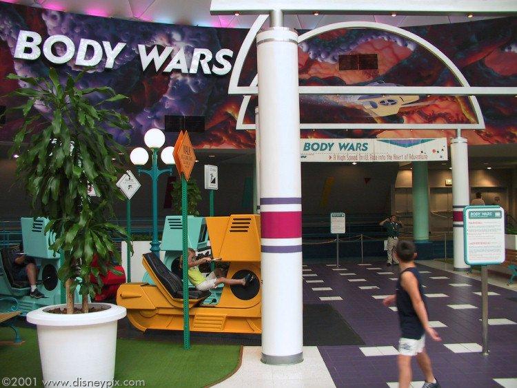 Disney Extinct Attractions: Body Wars
