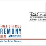 Disney Villains Bad To The Postage Stamp